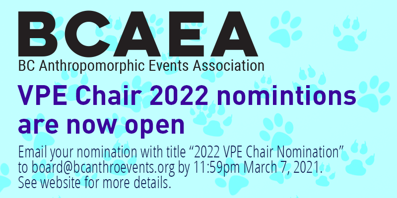 Nominations for Vanhoover Pony Expo Chair 2022 are open.